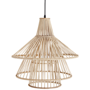 Bamboo ceiling lamp