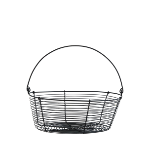 Wire basket w/ handle