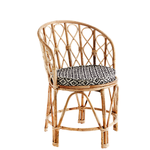 Bamboo chair w/ chair pad