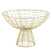 Iron basket w/ stand