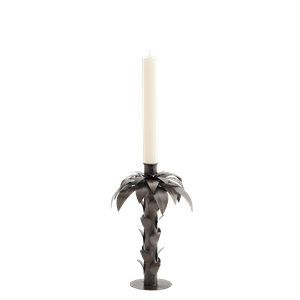 Iron palm candle holder
