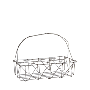 Glass rack w/ handle
