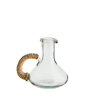 Glass jug w/ jute