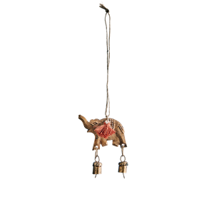 Hanging elephant w/ bells