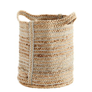 Jute bag w/ stripes