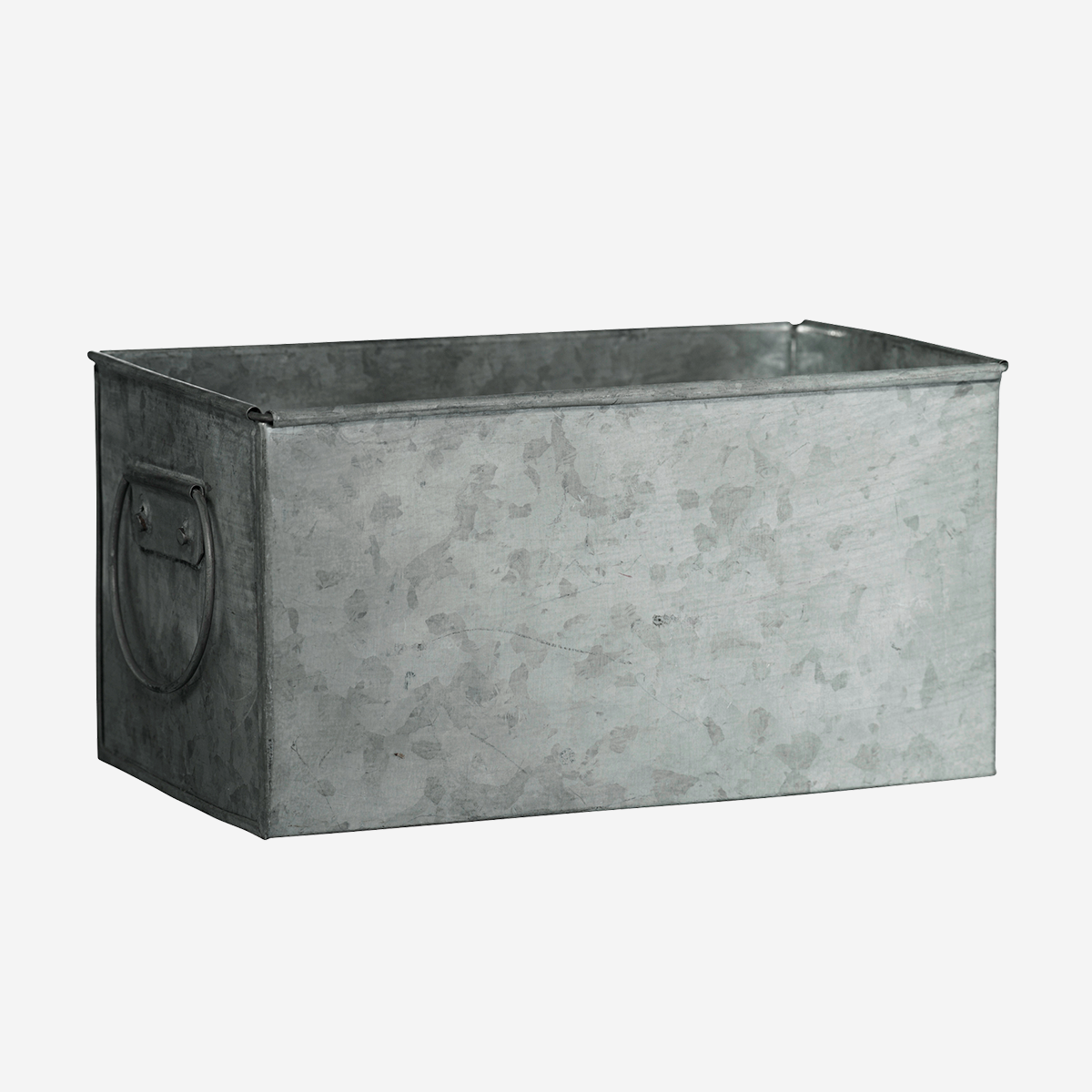 Rectangular planter w/ handles
