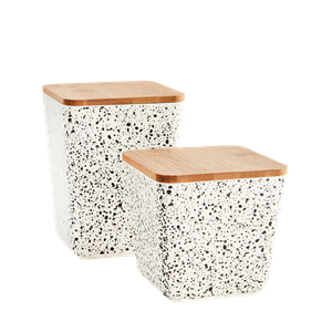 Square containers w/ lid