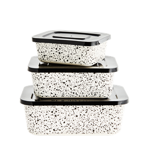 Rectangular containers w/ lid