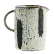 Stoneware jug w/ stripes