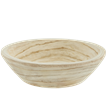 Wooden serving bowl