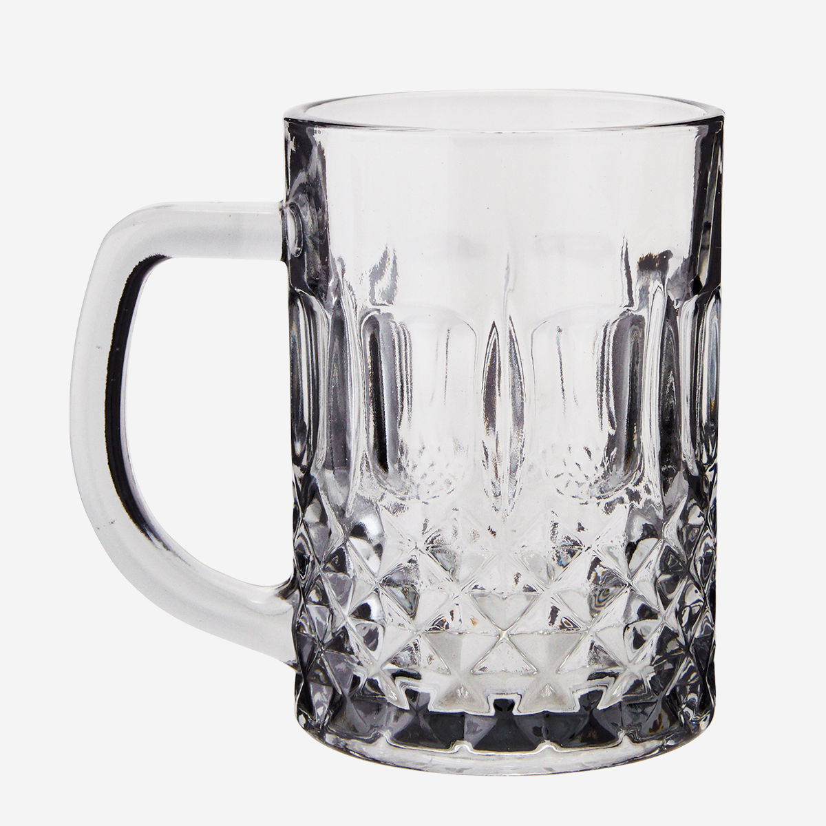 Drinking glass w/ handle