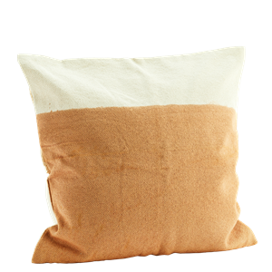 Two tone cushion cover
