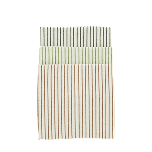 Striped kitchen towels