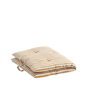 Striped cotton mattress