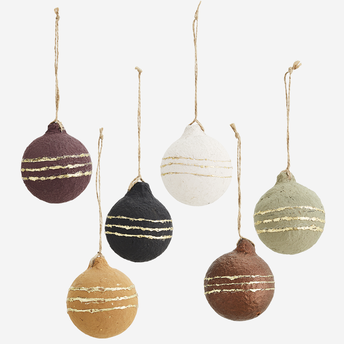 Hanging cotton paper balls