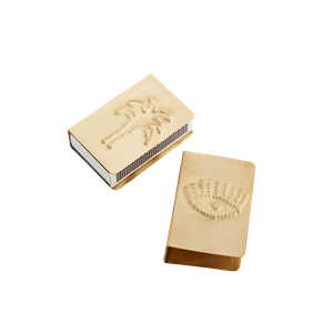 Match box covers w/ imprints