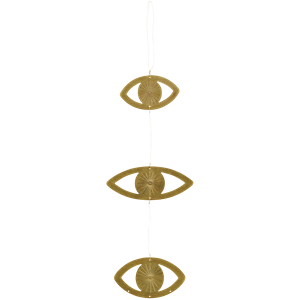 Hanging eye ornaments w/ wire