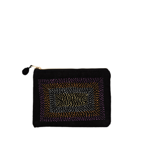 Cotton purse w/ kanta