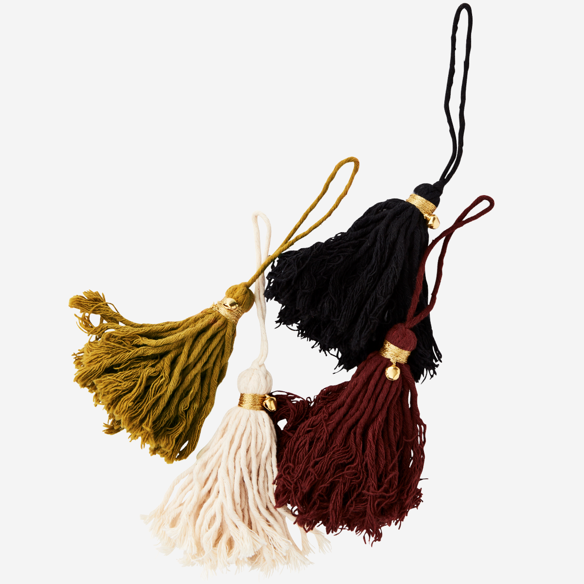 Cotton tassels w/ bell