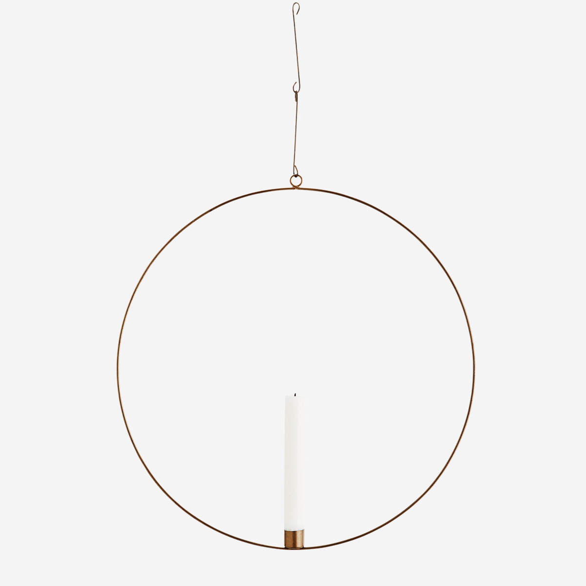 Wire ring w/ candle holder