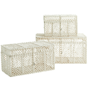 Cotton braid boxes
