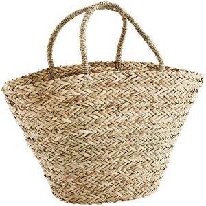 Straw bag w/ handles