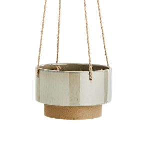 Hanging two tone flower pot